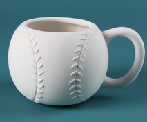 30621 Duncan Bisque Baseball Cup