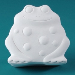 Duncan Bisque 29860 Frog Box