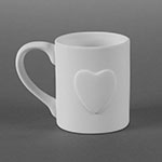 Duncan Bisque 33430 Heart PersonalMug