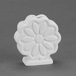 Duncan Bisque 35073  ten petal flower bank