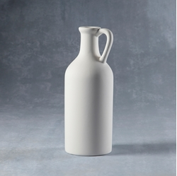 Duncan Bisque 37215 long neck handled vase