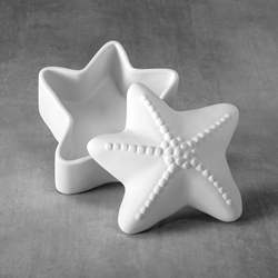 Duncan Bisque 37485 starfish box