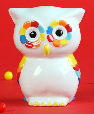 Duncan Bisque FP Owl Bank