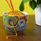 Duncan Bisque FP Yarn Bowl