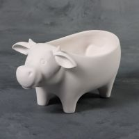 Mayco Bisque -mb1520- moo cow dish