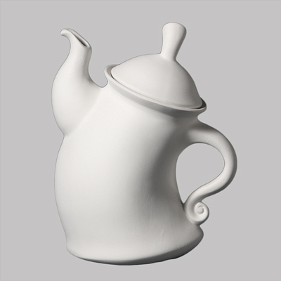 Mayco Bisque MB1371 Dancing Teapot