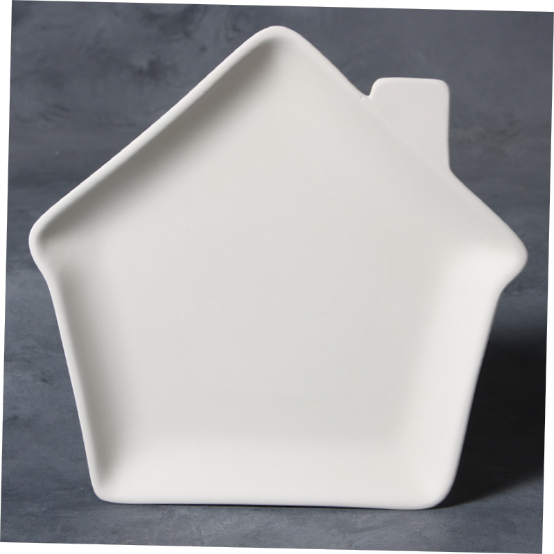 Mayco Bisque MB1435 House Plate