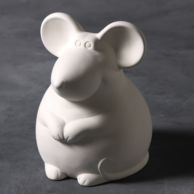Mayco Bisque MB1453 Roly Poly Mouse Bank