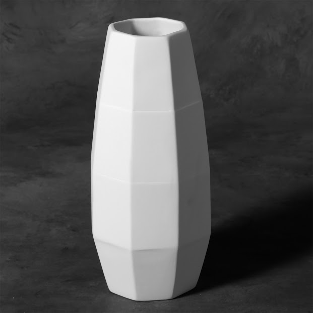 Mayco Bisque MB1466 Faceted Vase