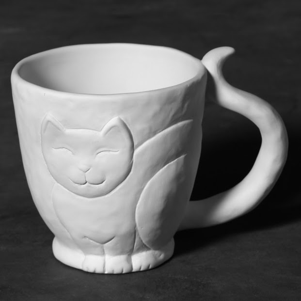 Mayco Bisque MB1470 Kitty Cup