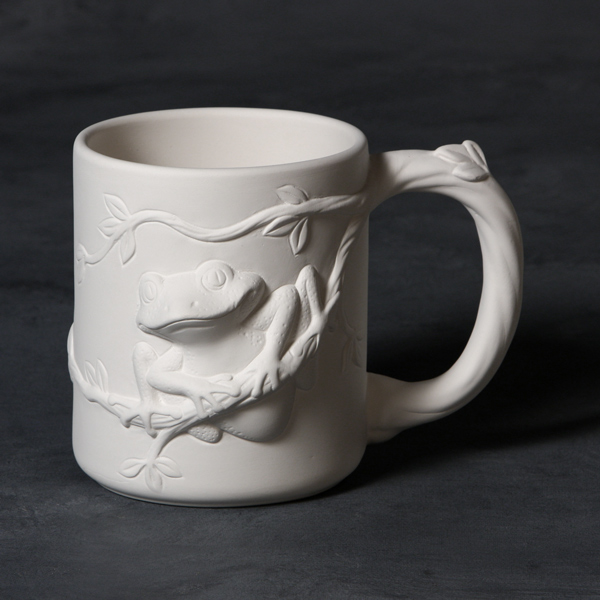 Mayco Bisque MB1481 Tree Frog Mug