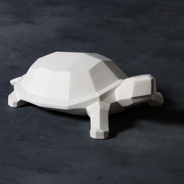 Mayco Bisque MB1492 Faceted Turtle