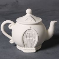 Mayco Bisque mb1502 teapot fairy house