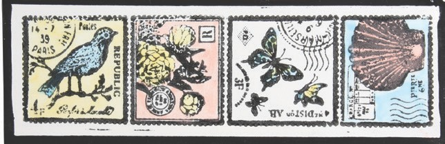 Mayco Designer Stamps ST131 Postage Stamps