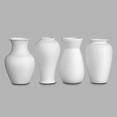 Mayco Bisque MB1026 vases