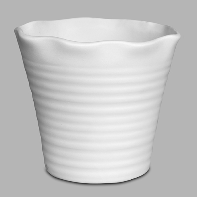 Mayco Bisque MB1044 flower pot