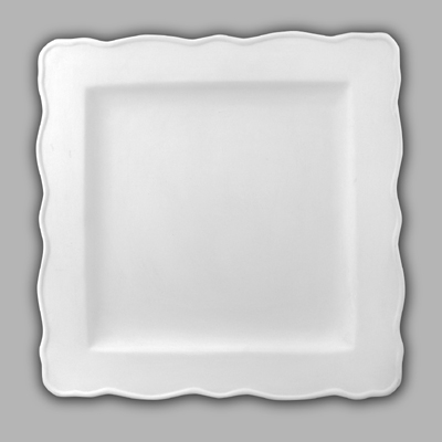 Mayco Bisque MB107 sqdinnerplate