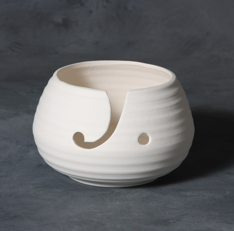 Mayco Stoneware Bisque SB132 Yarn Bowl