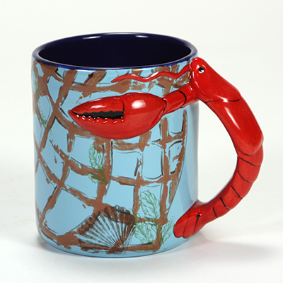 Mayco bisque mb1446 LobsterNetmug