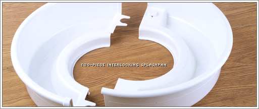 Pottery Wheel Splashpan