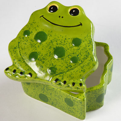 duncan bisque fp frog box